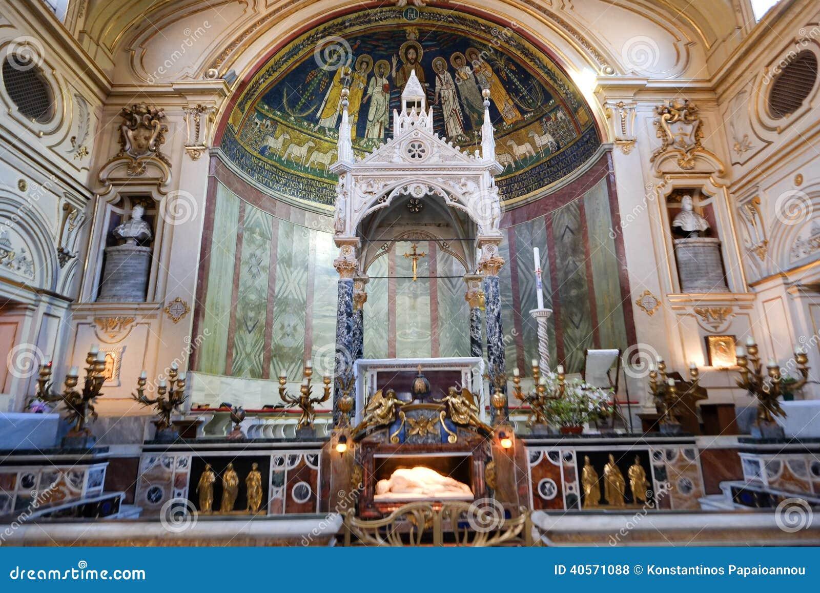 Santa Cecilia kyrka i Rome