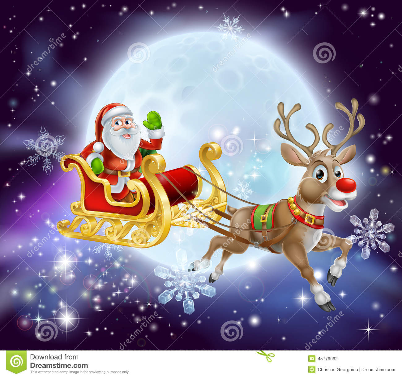 search results for �santa flying in his sleigh� � calendar