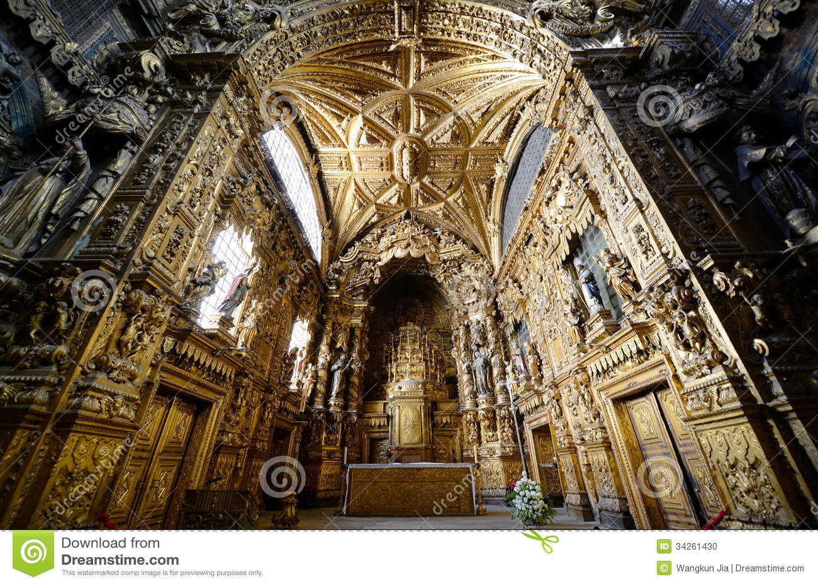 Santa Clara Church, Porto, Portugal
