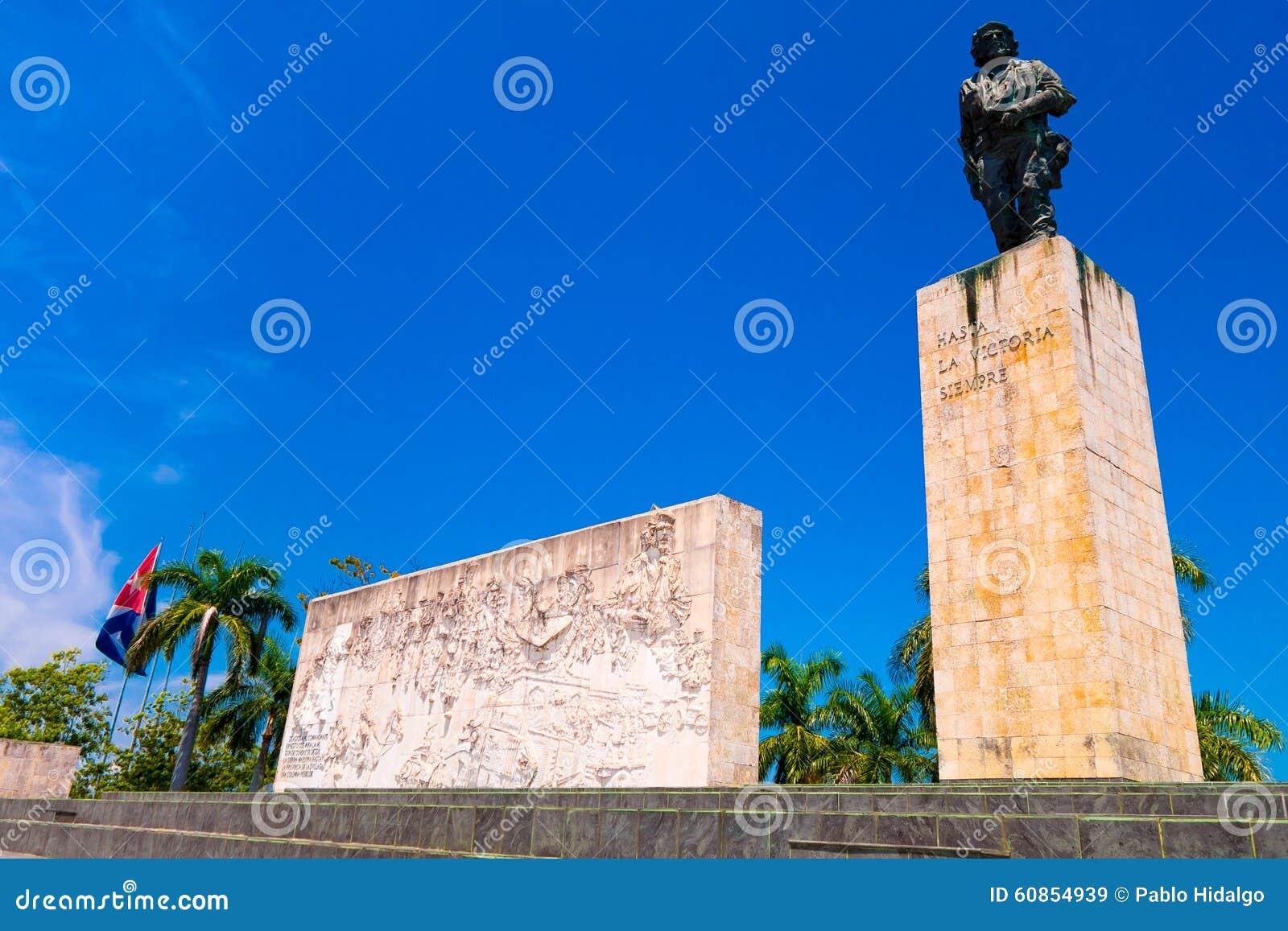 SANTA CLARA, CUBA - 8 DE SETEMBRO DE 2015: O Che