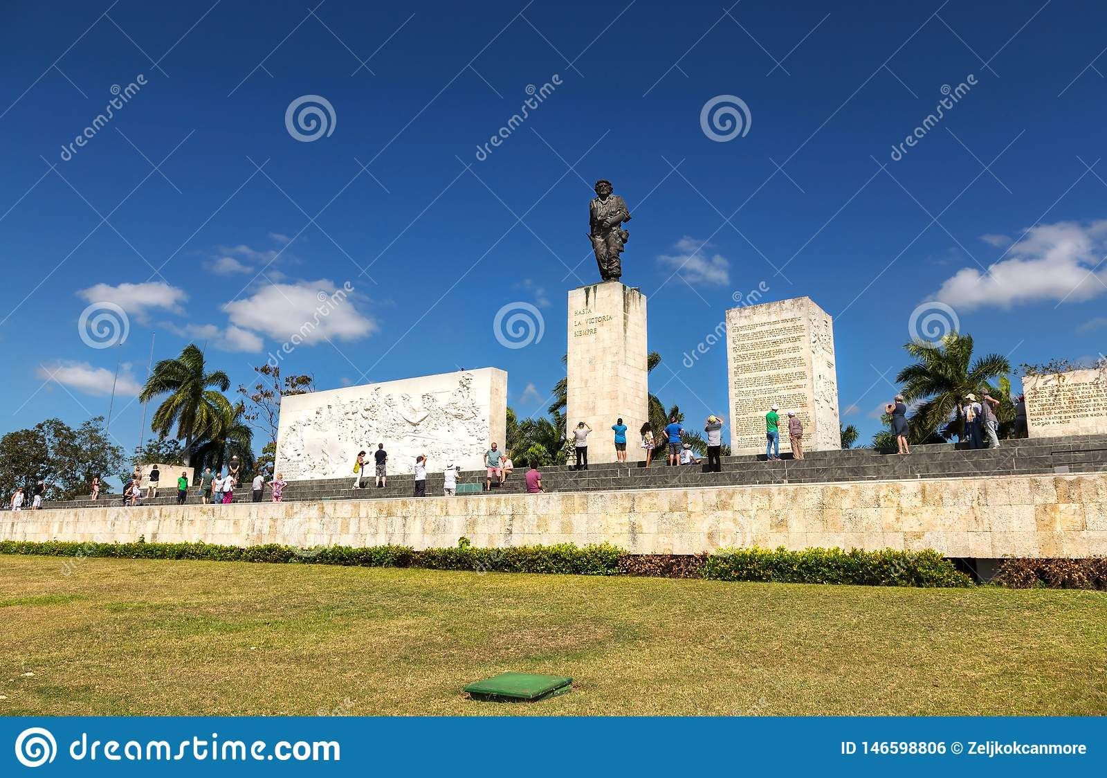 Santa Clara Ernesto Che Guevara Memorial Mausoleum turist- besökare