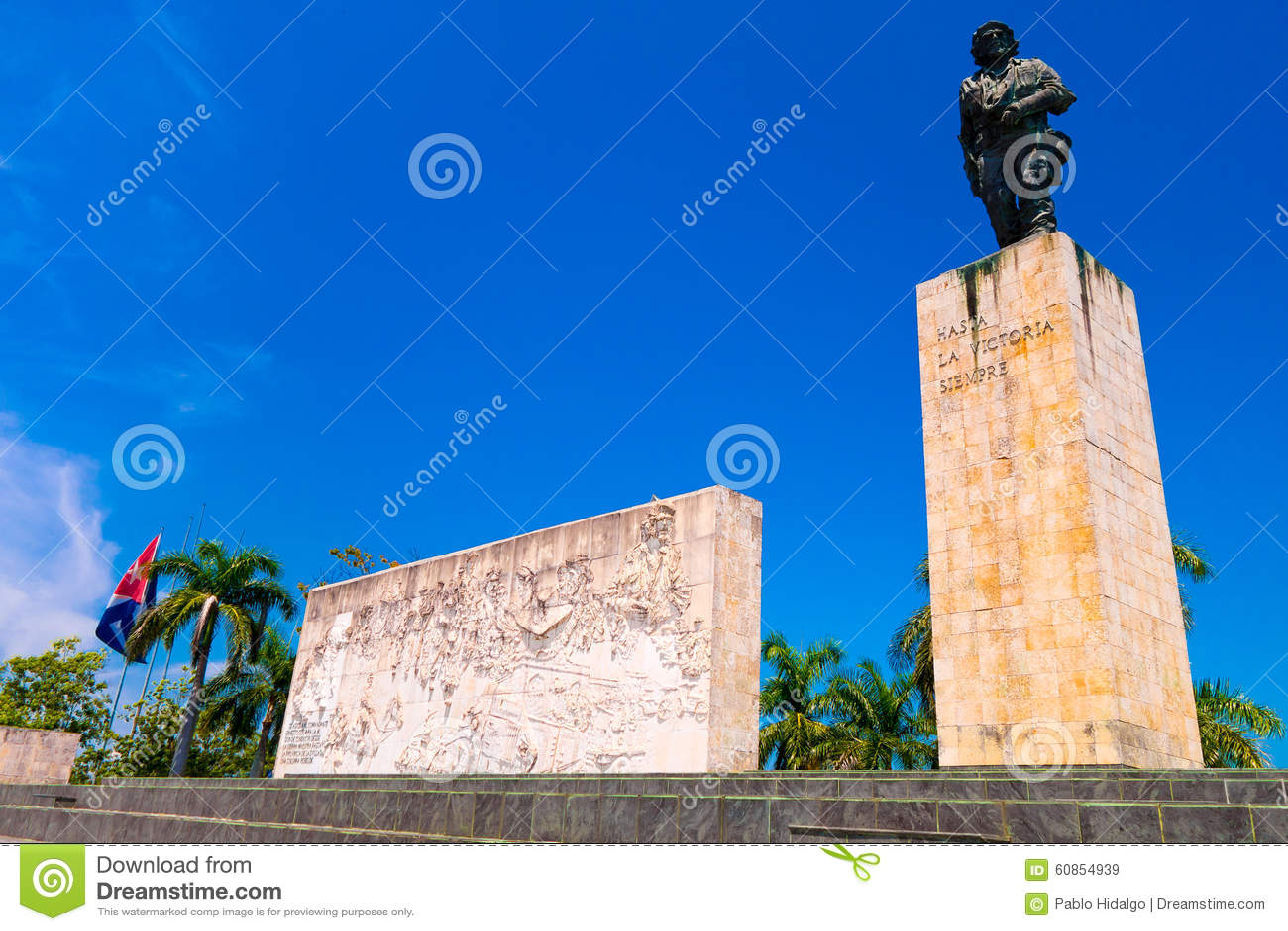 SANTA CLARA, KUBA - 8. SEPTEMBER 2015: Der Che