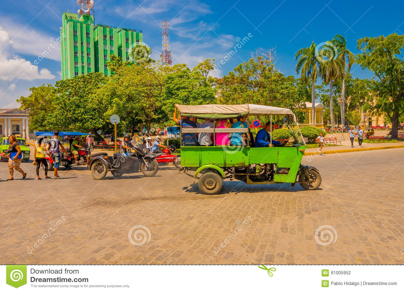 SANTA CLARA KUBA - SEPTEMBER 08, 2015: Visa
