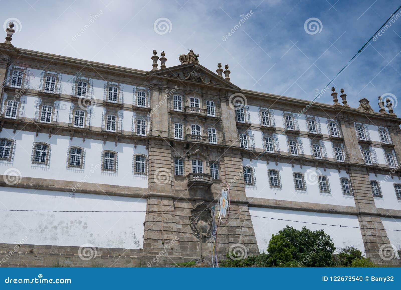 Santa Clara Monastery en Vila do Conde, Portugal