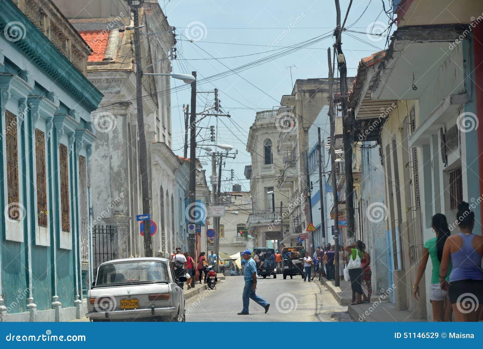 Santa Clara ulicy scena