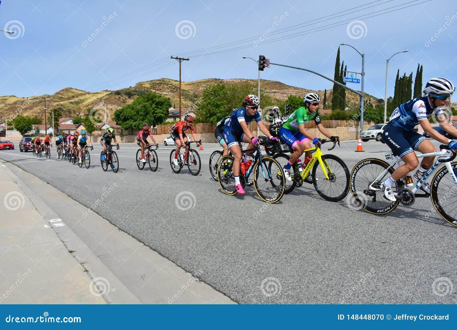 Santa Clarita, Ca U.S.A. 18 maggio 2019 Giro di AMGEN della corsa della fase 7 di California attraverso Santa Clarita sul modo a