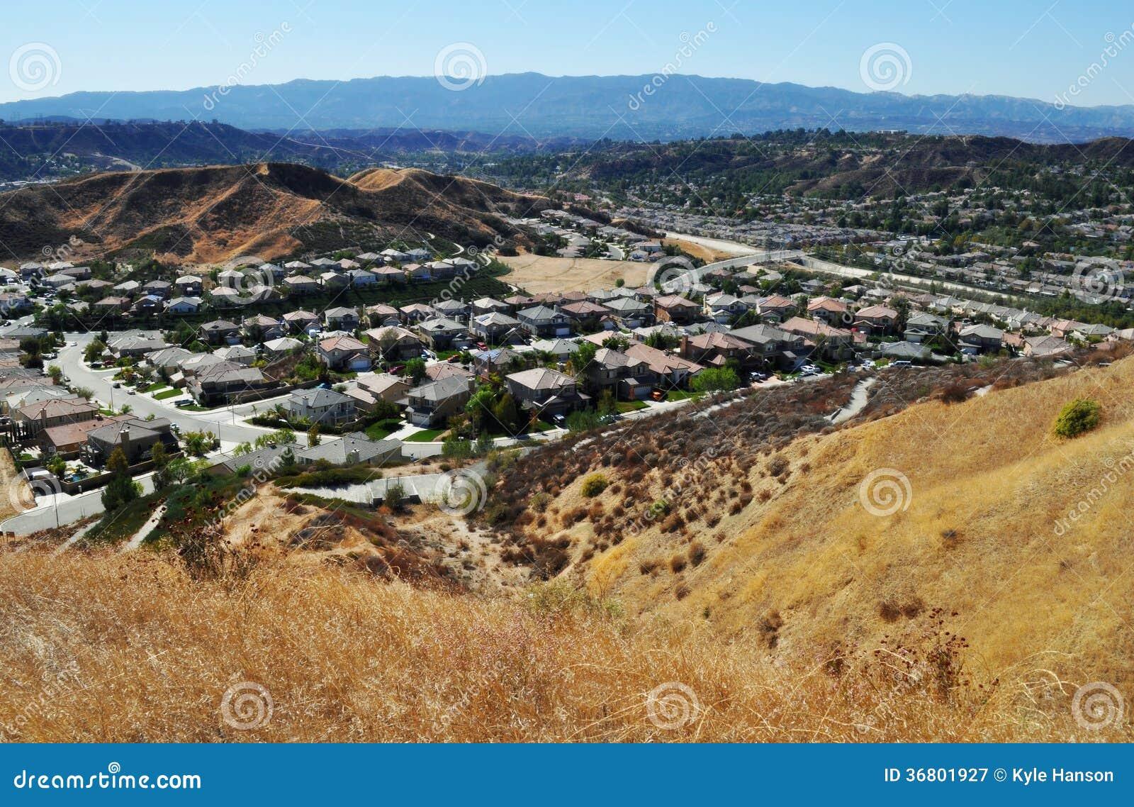 Santa Clarita Canyon Country Foothills,
