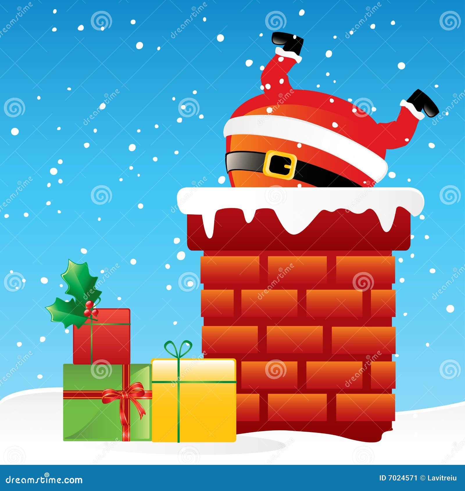 Santa Claus καπνοδόχων