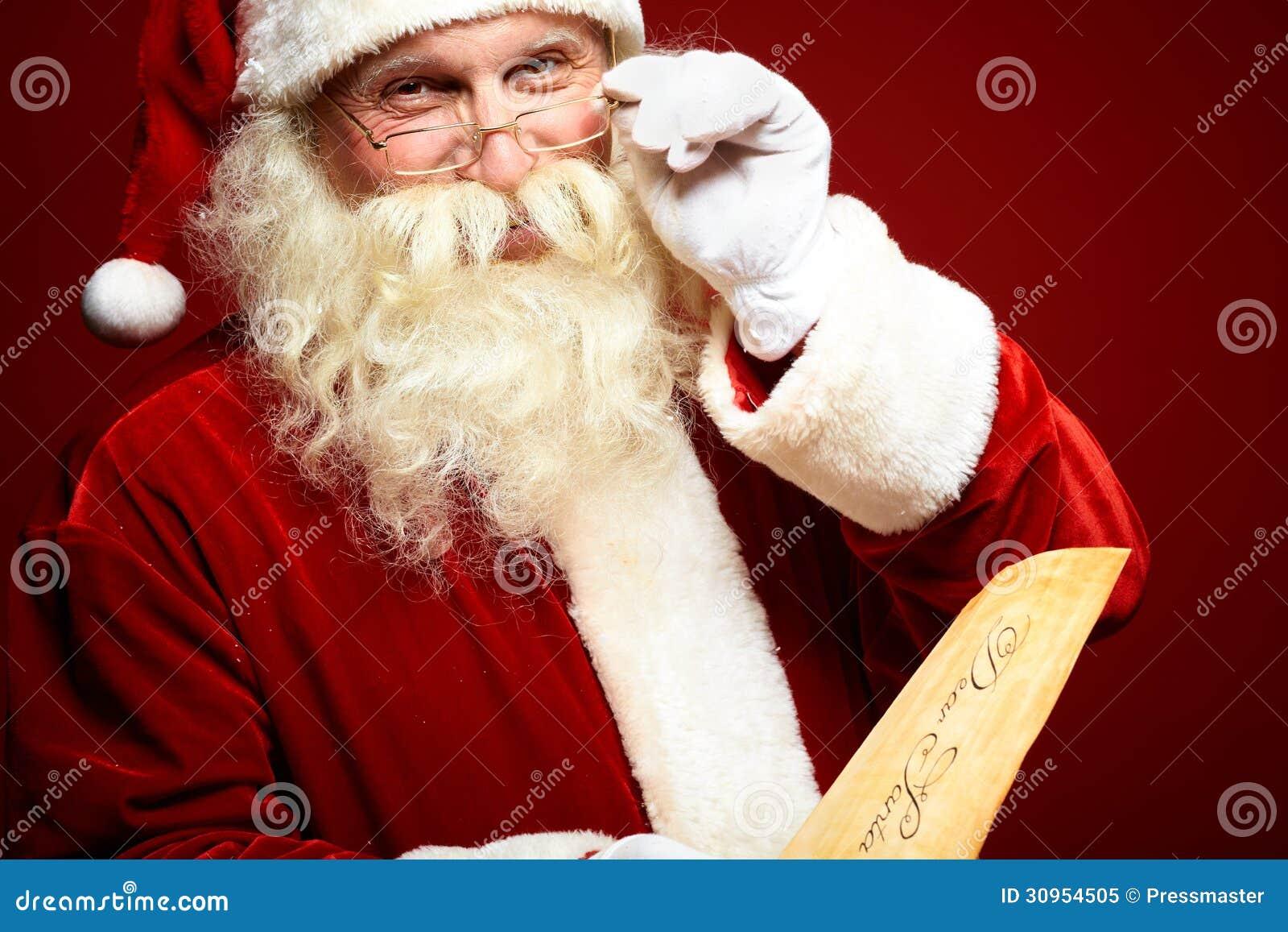 Santa Claus aimable