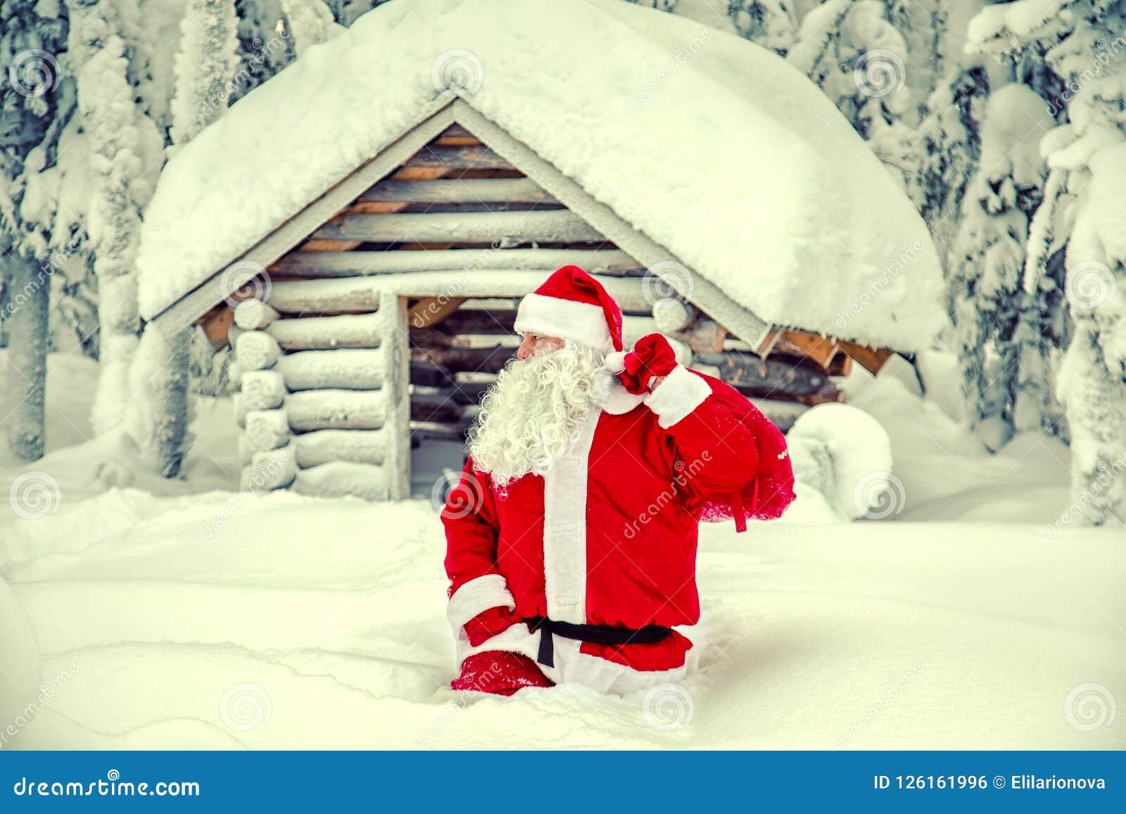 Santa Claus autentica in Lapponia