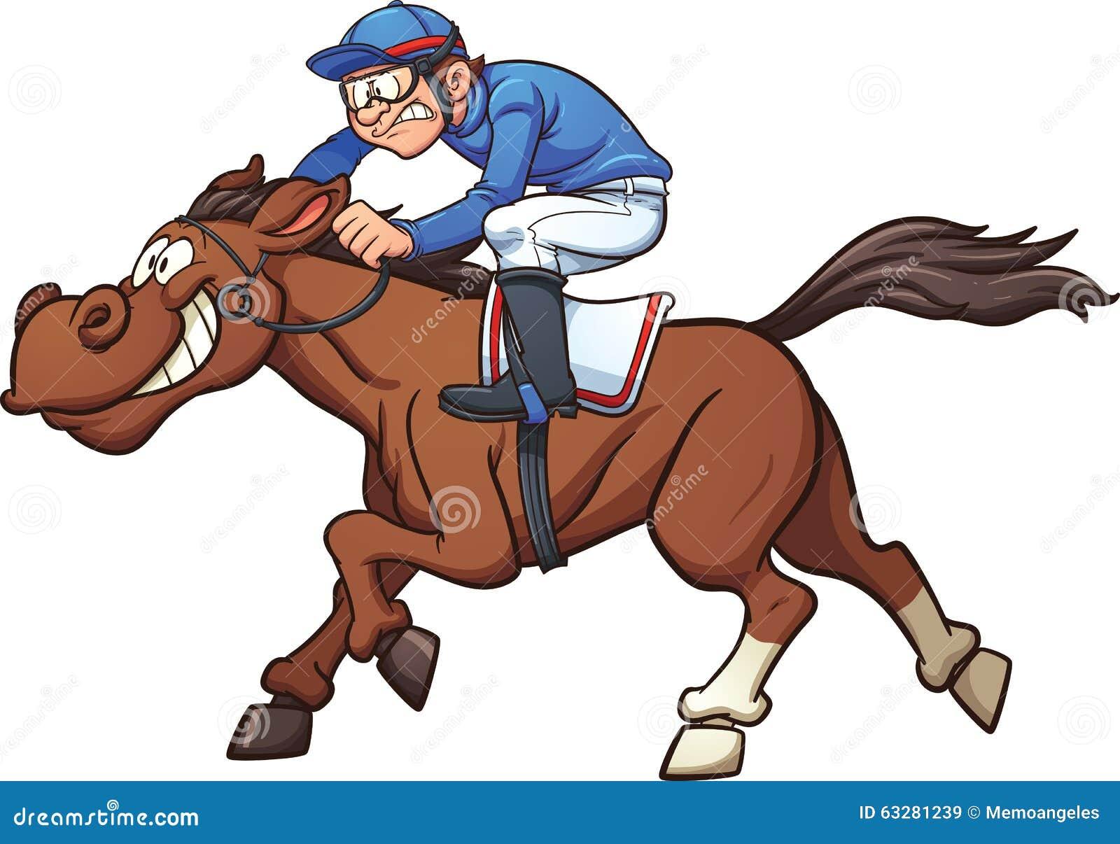 race-horse-vector-clip-art-illustration-simple-gradients-jockey-horse ...