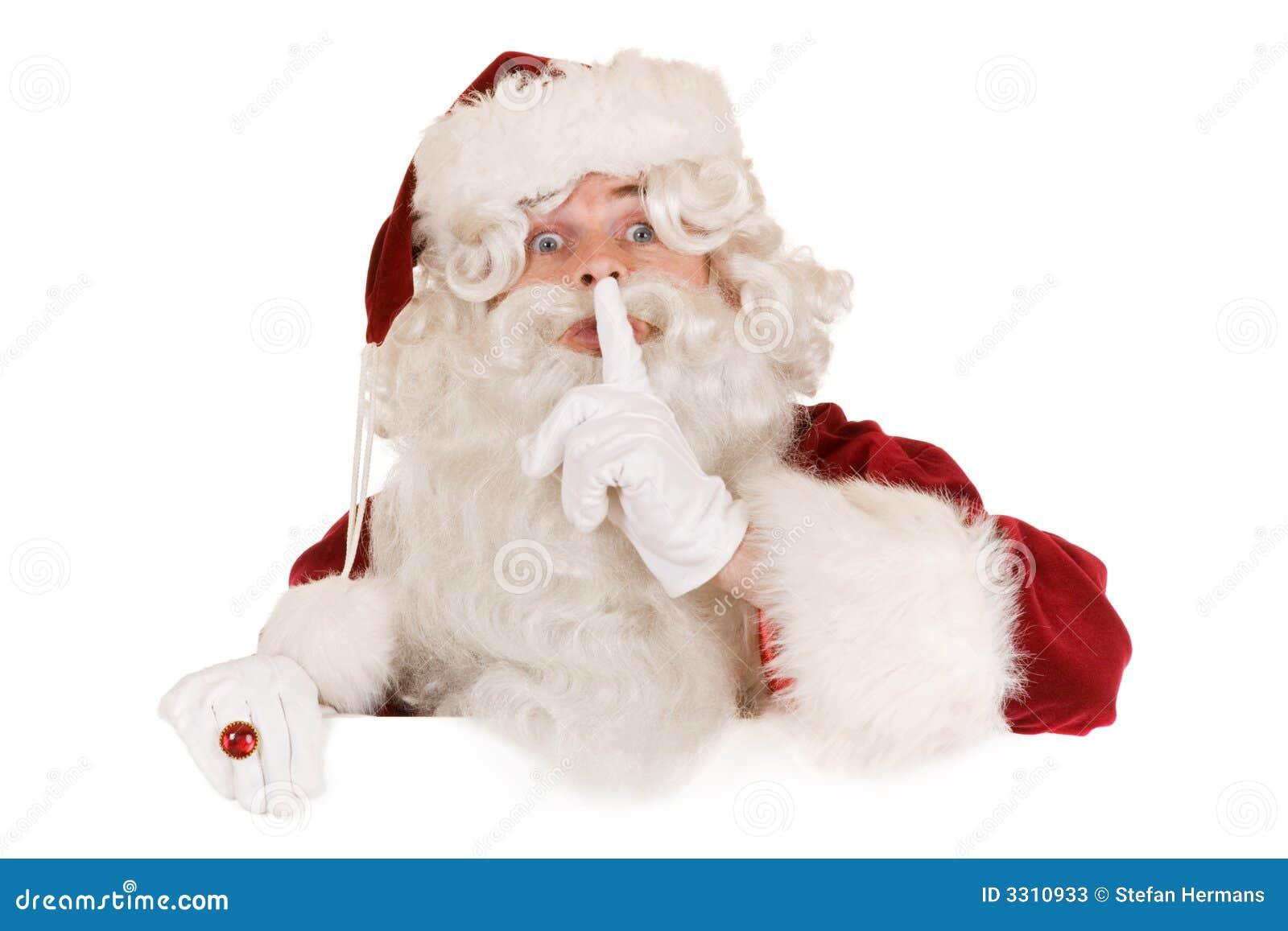 Santa claus banner stock photos image