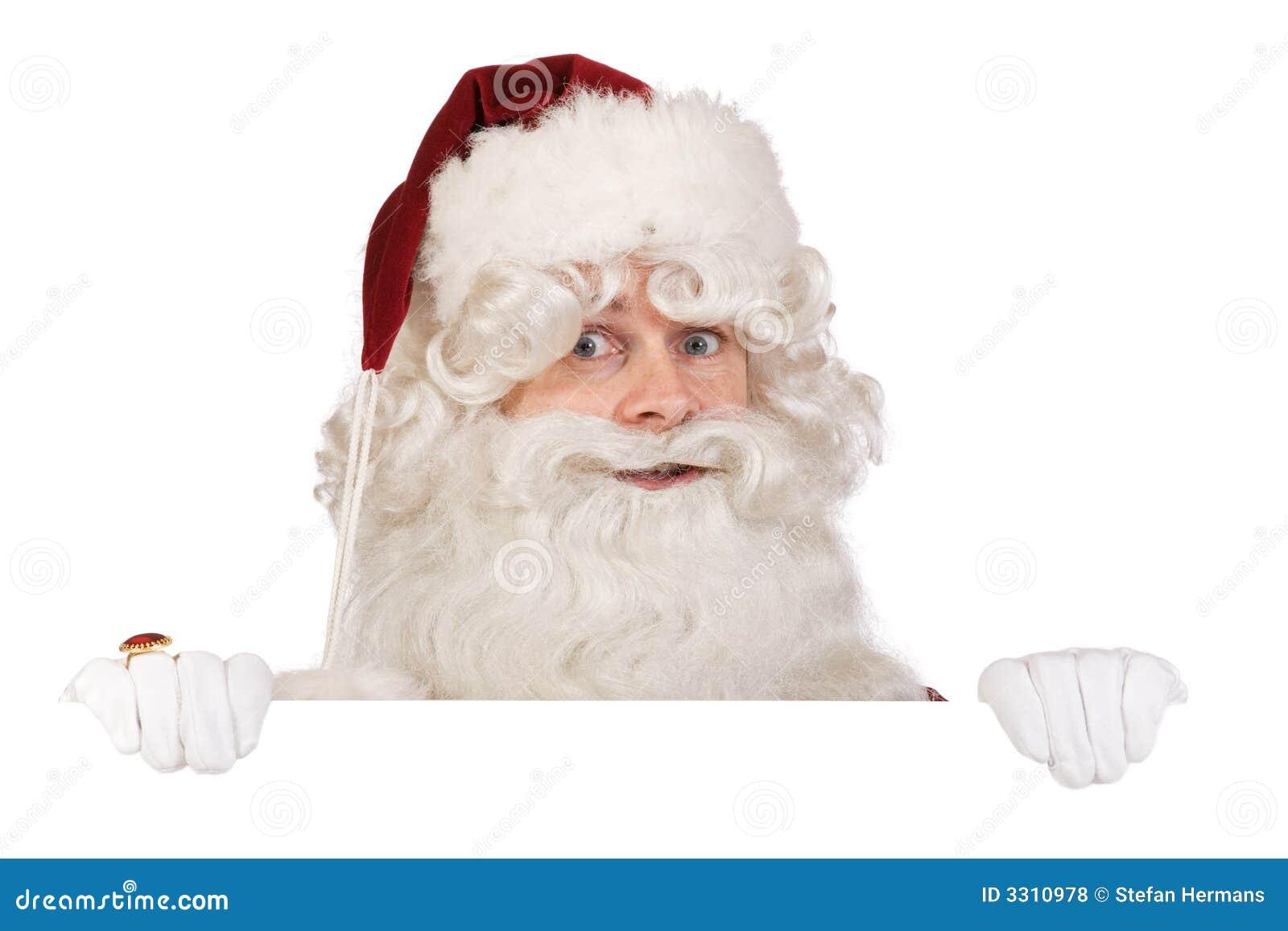 Santa claus banner royalty free stock photos image