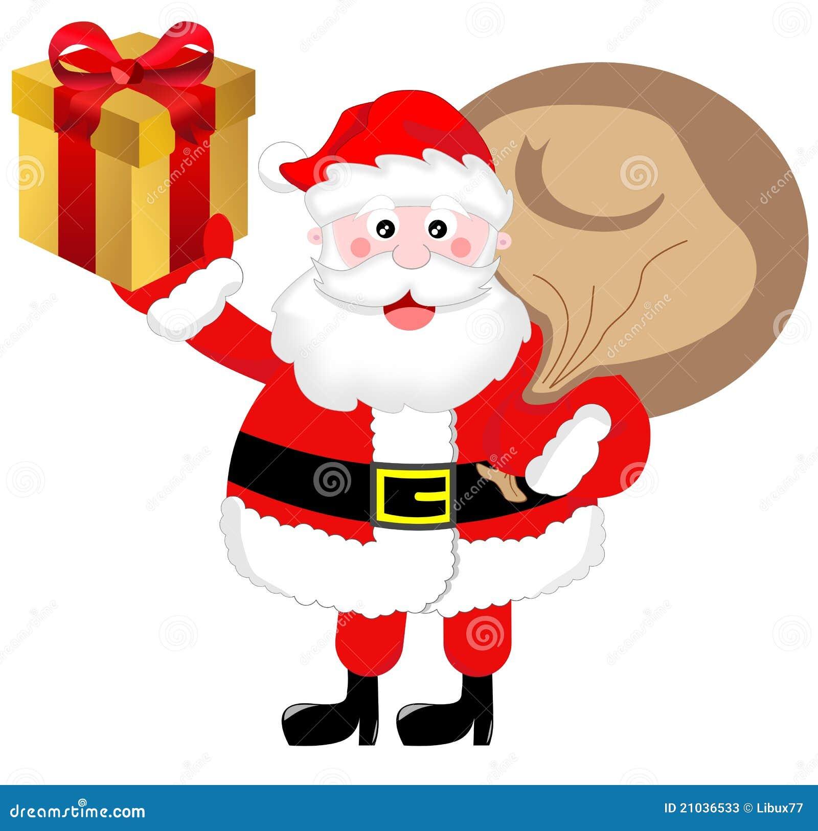 santa claus brings presents - Santa Claus Presents