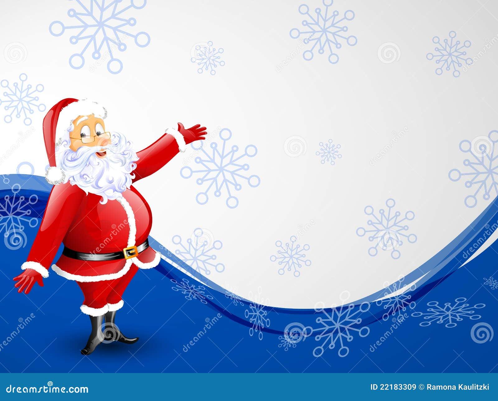 santa claus christmas card isolated smile - Santa Claus Christmas Cards