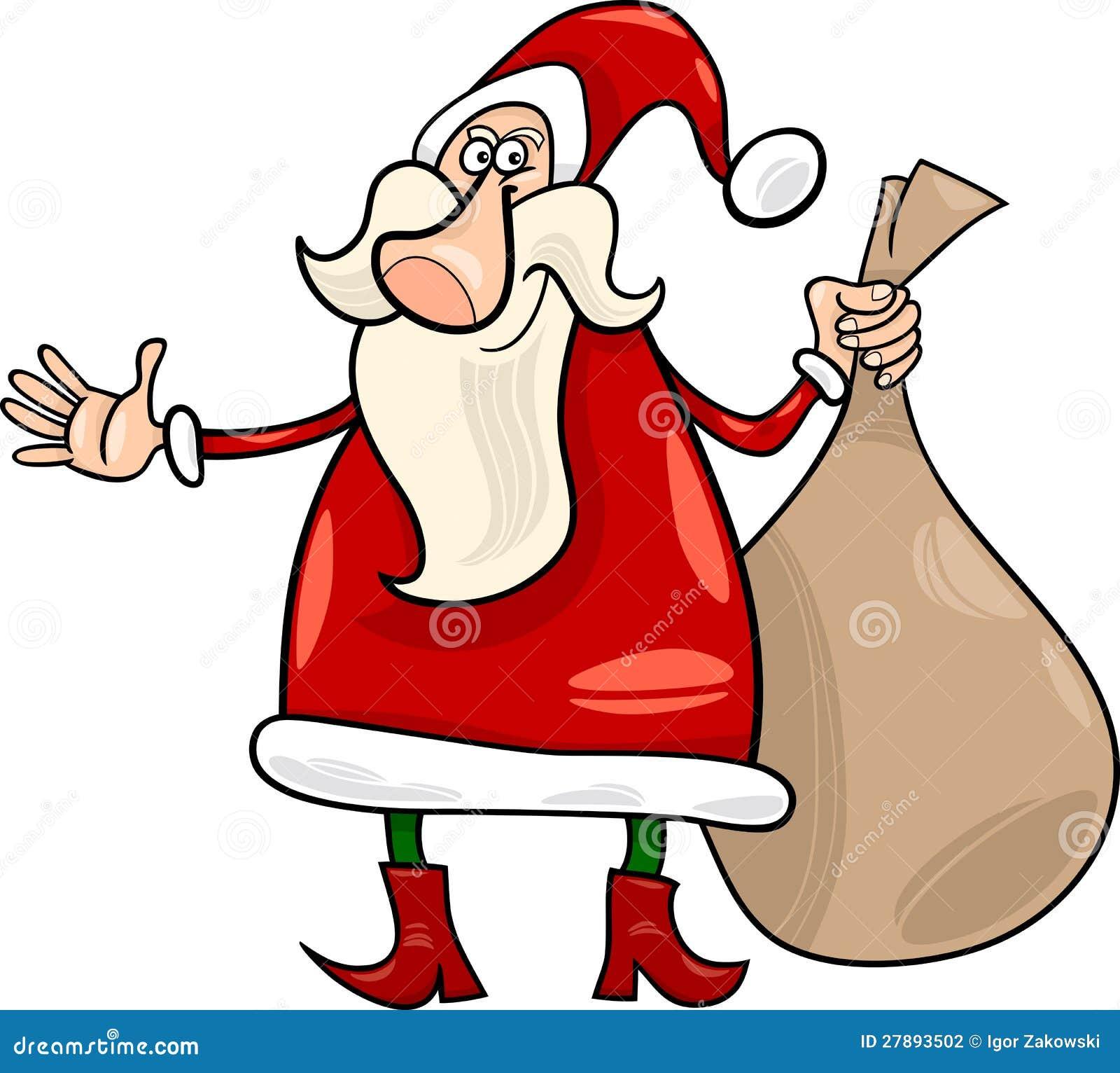 Cartoon Christmas Santa