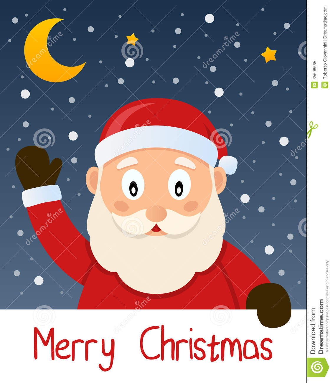 Santa Claus Christmas Greeting Card Royalty Free Stock Photo ...