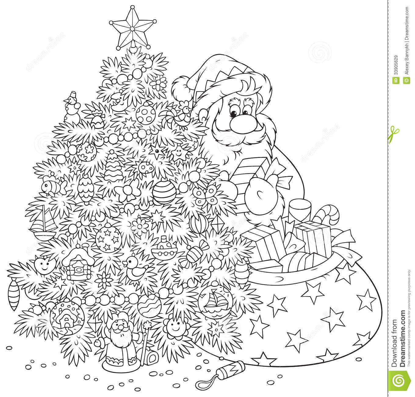... black-and-white outline illustration on a white background for a