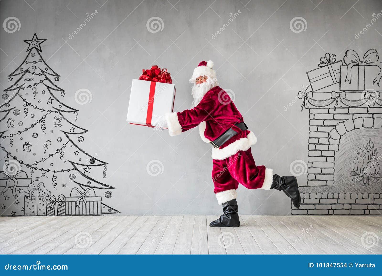 Santa Claus Christmas Xmas Holiday Concept