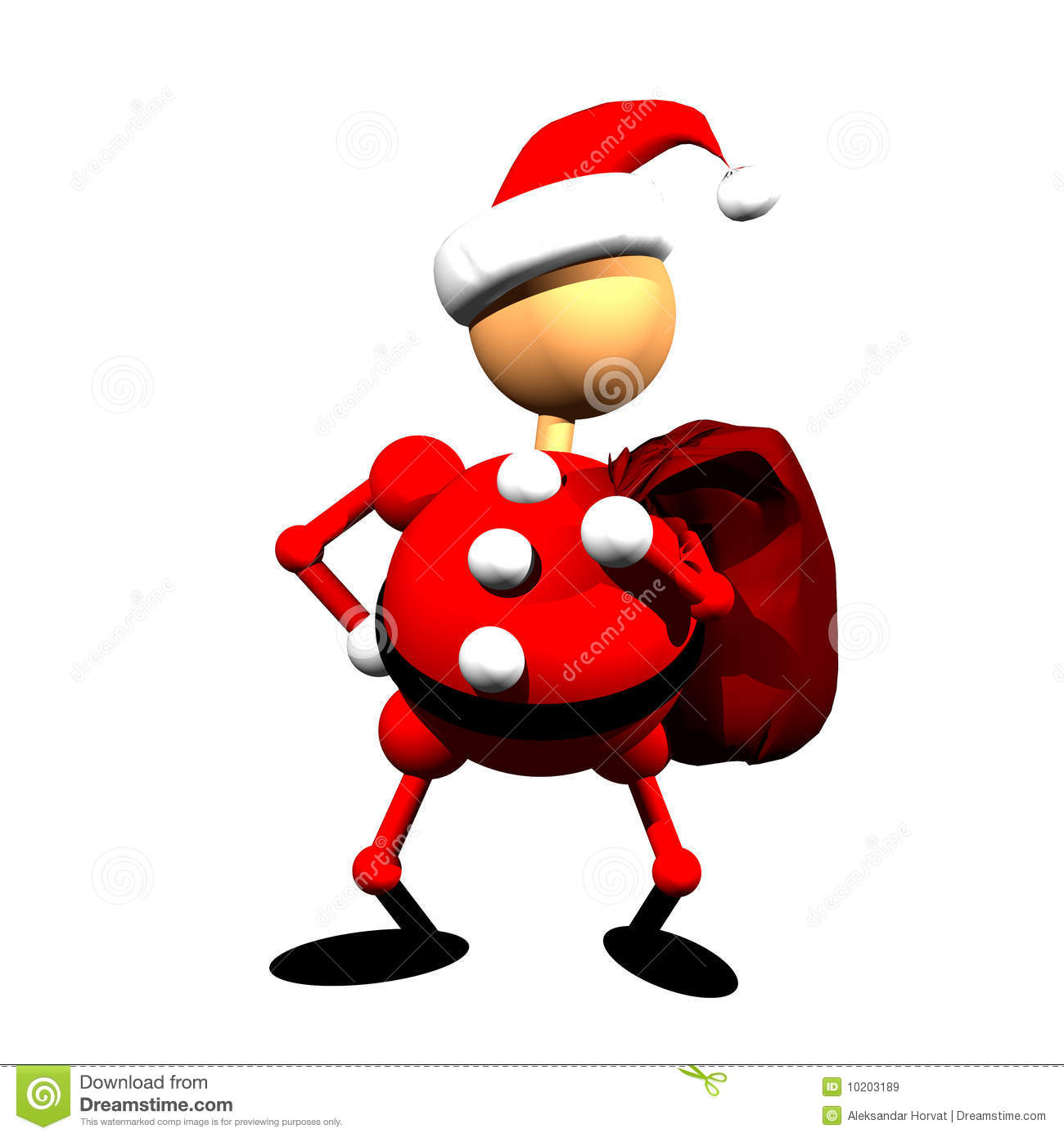 Santa Claus Clipart Royalty Free Stock Images - Image: 10203189