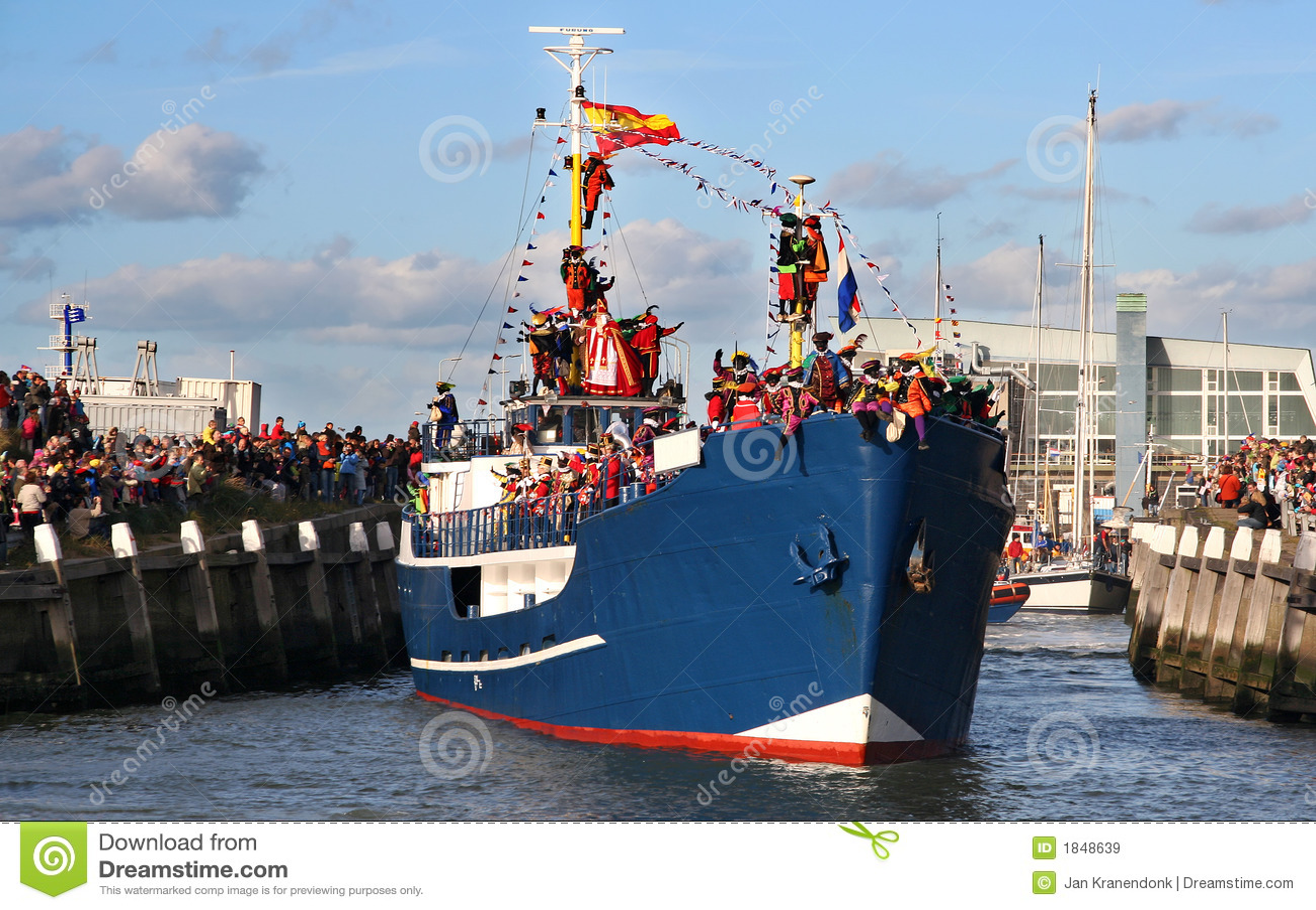 Santa Claus comes to Holland