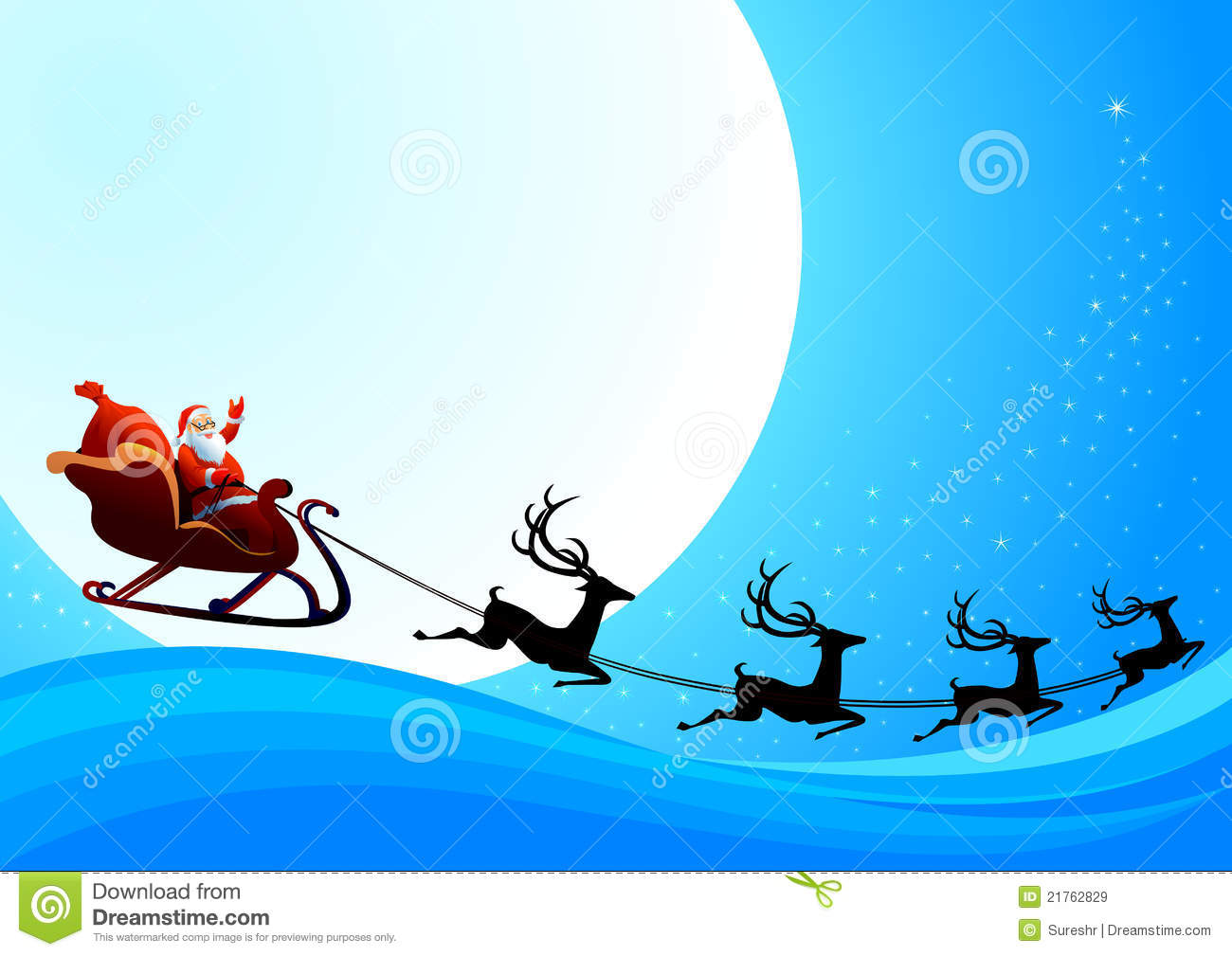 santa claus is coming to town royalty free stock images image