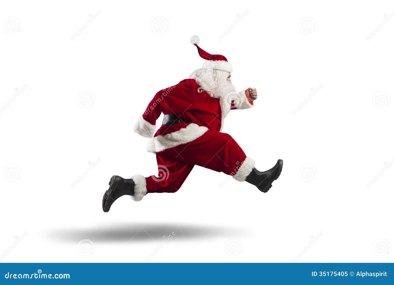 Santa Claus de corrida