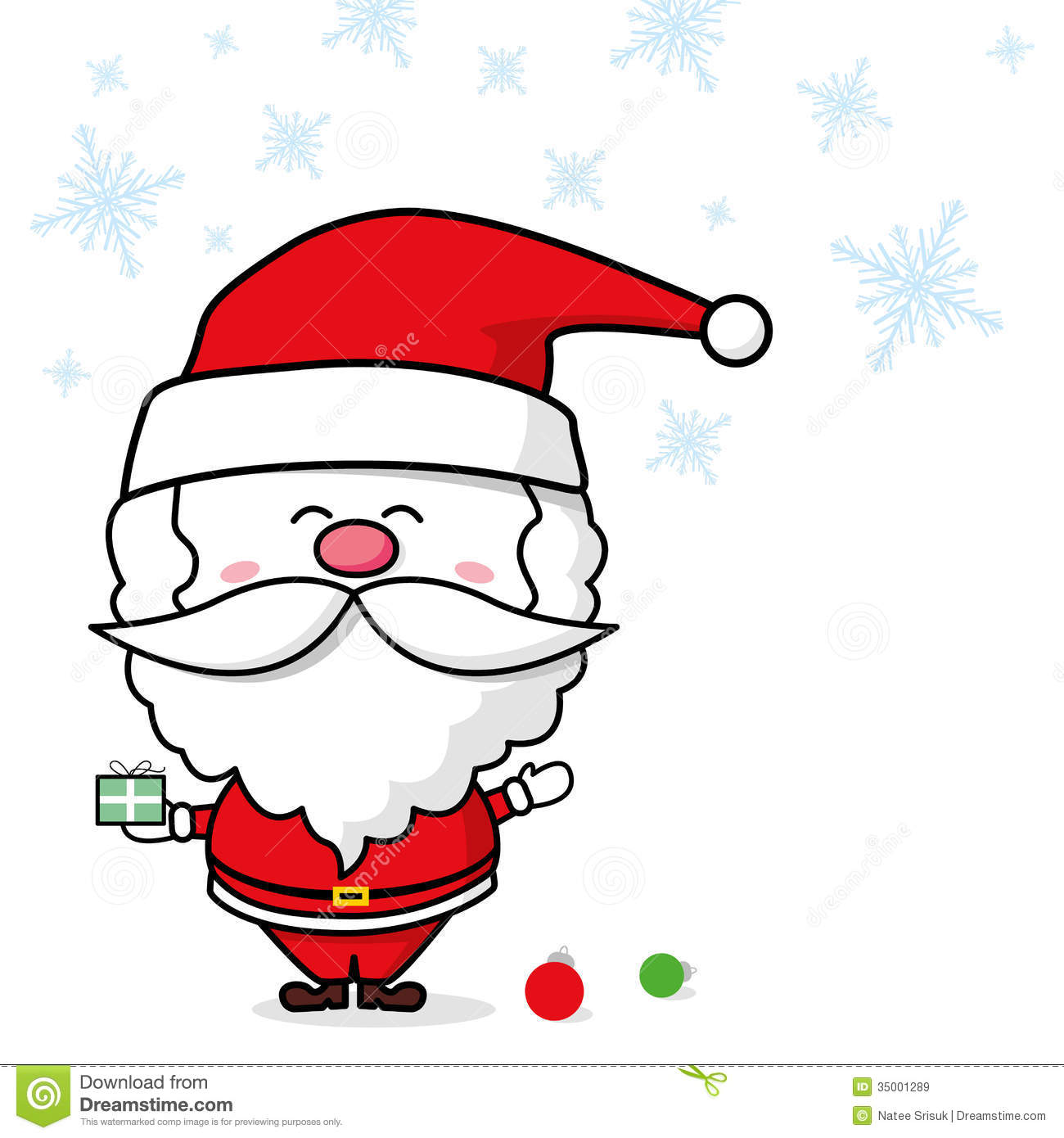 santa claus royalty free stock images