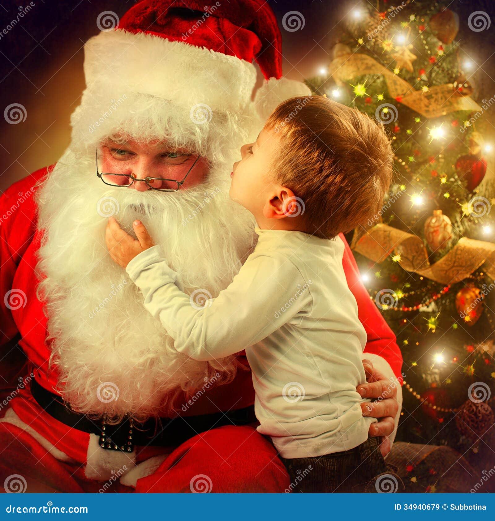 Santa Claus e Little Boy