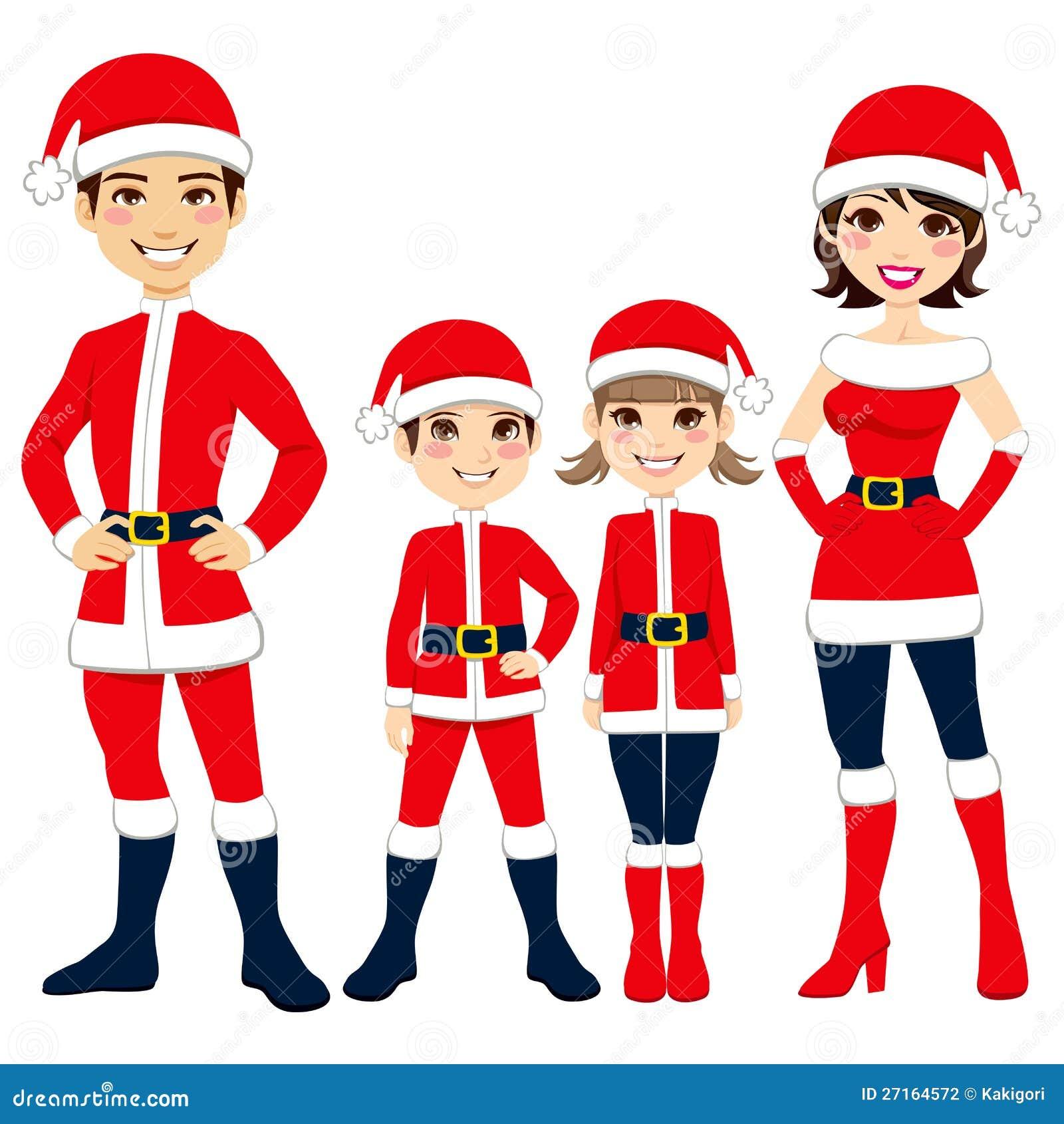 Santa Claus Family Stock Photography - Image: 27164572