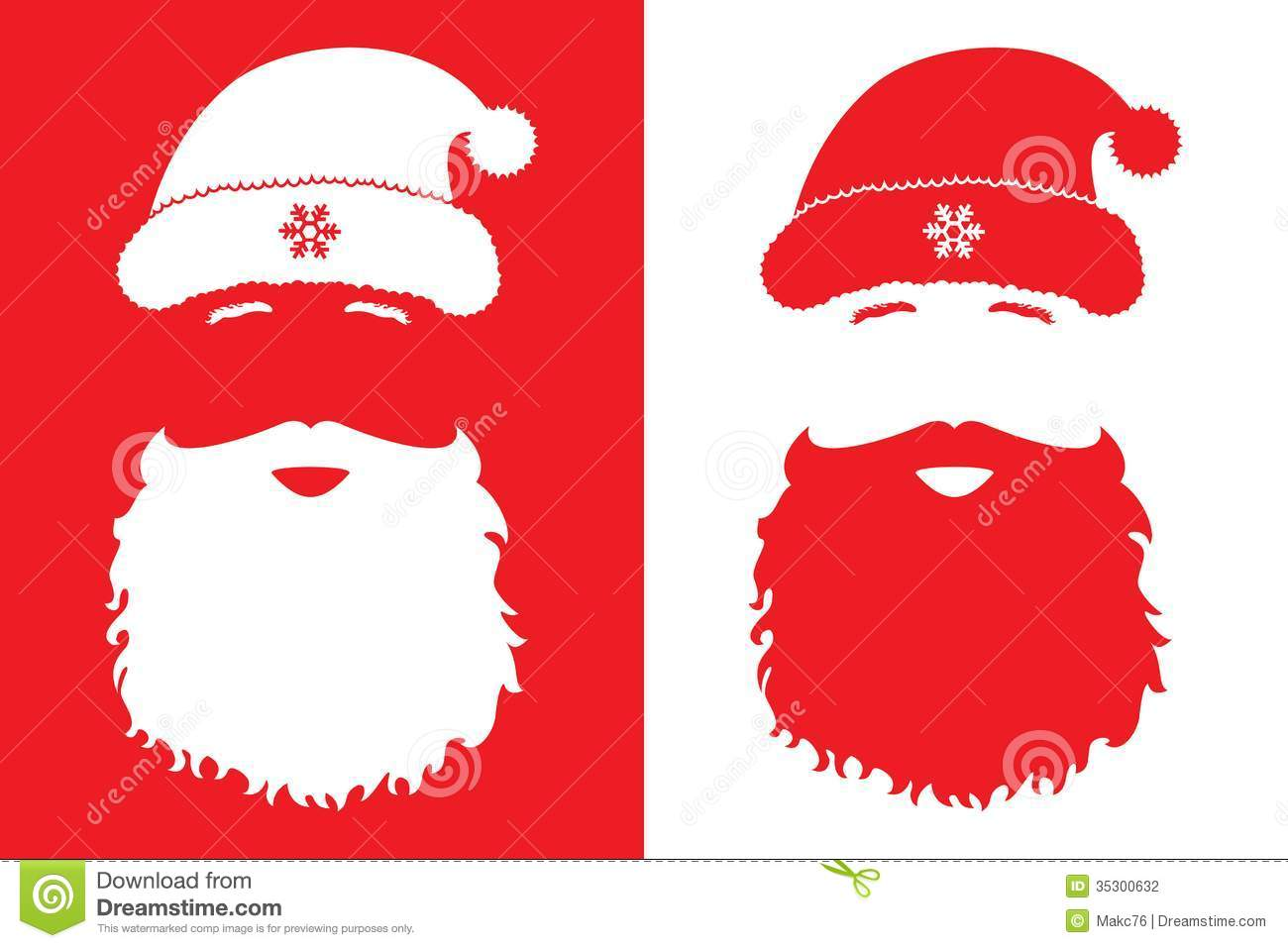 Santa claus fashion style stock vector image of adult