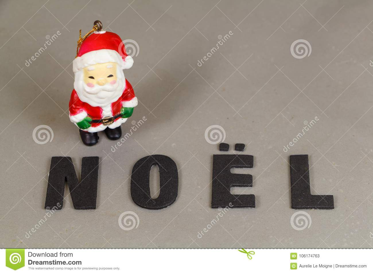 Santa claus figurine and the word christmas stock image image of download santa claus figurine and the word christmas stock image image of letter decoration spiritdancerdesigns Images