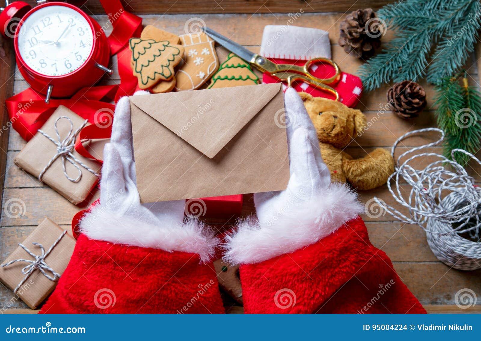 Santa Claus gekregen een Kerstmisbrief