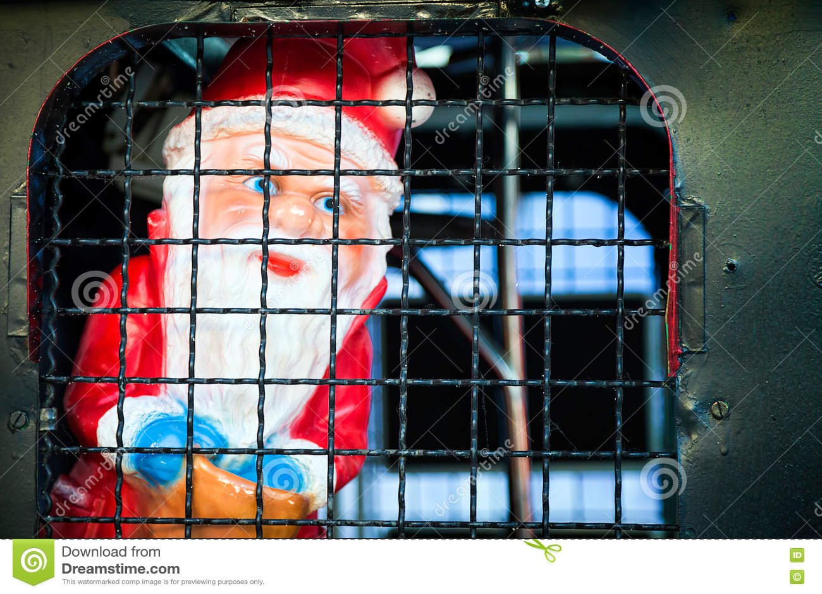 Santa Claus in Gevangenis