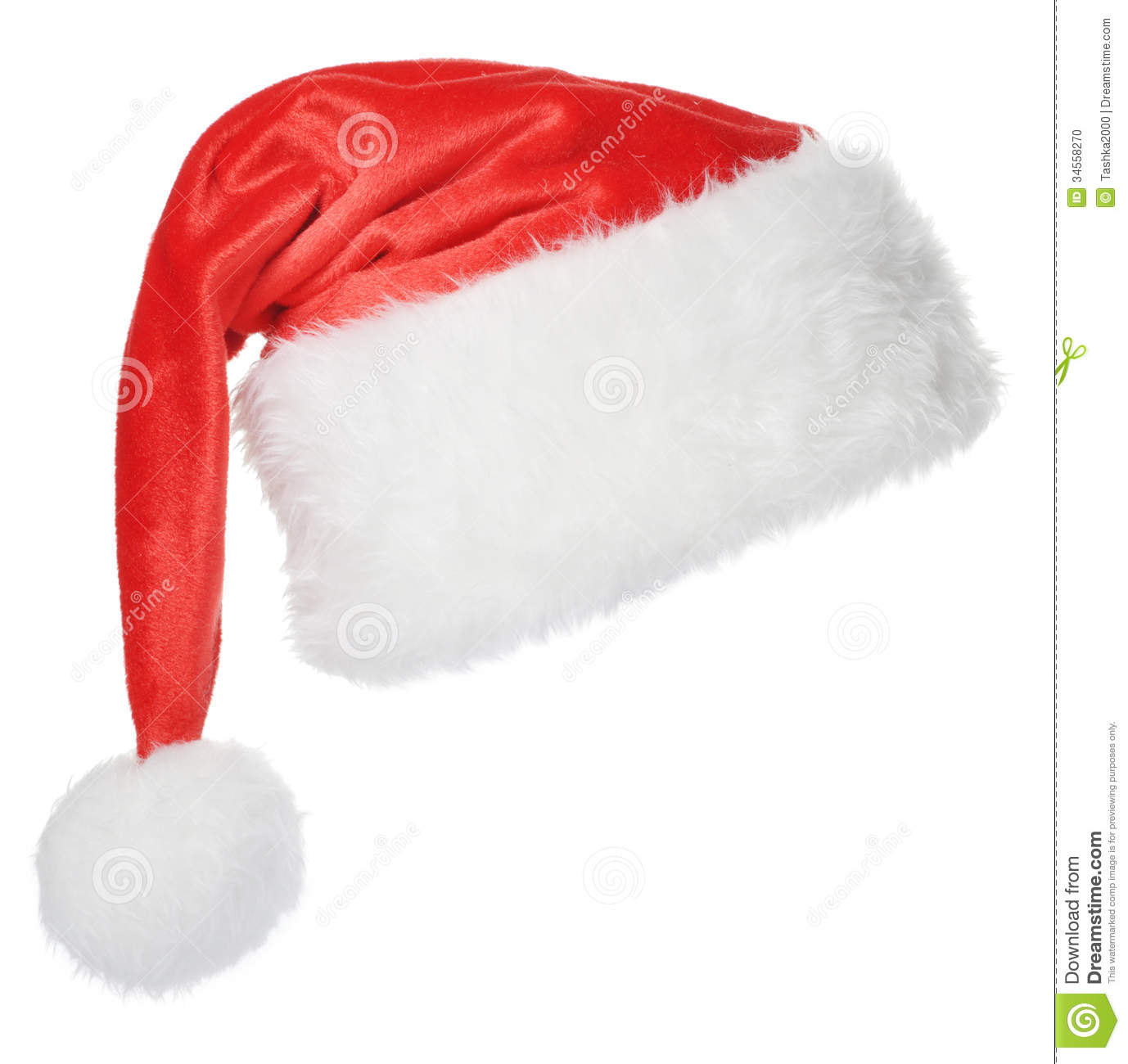 how to put on a santa hat