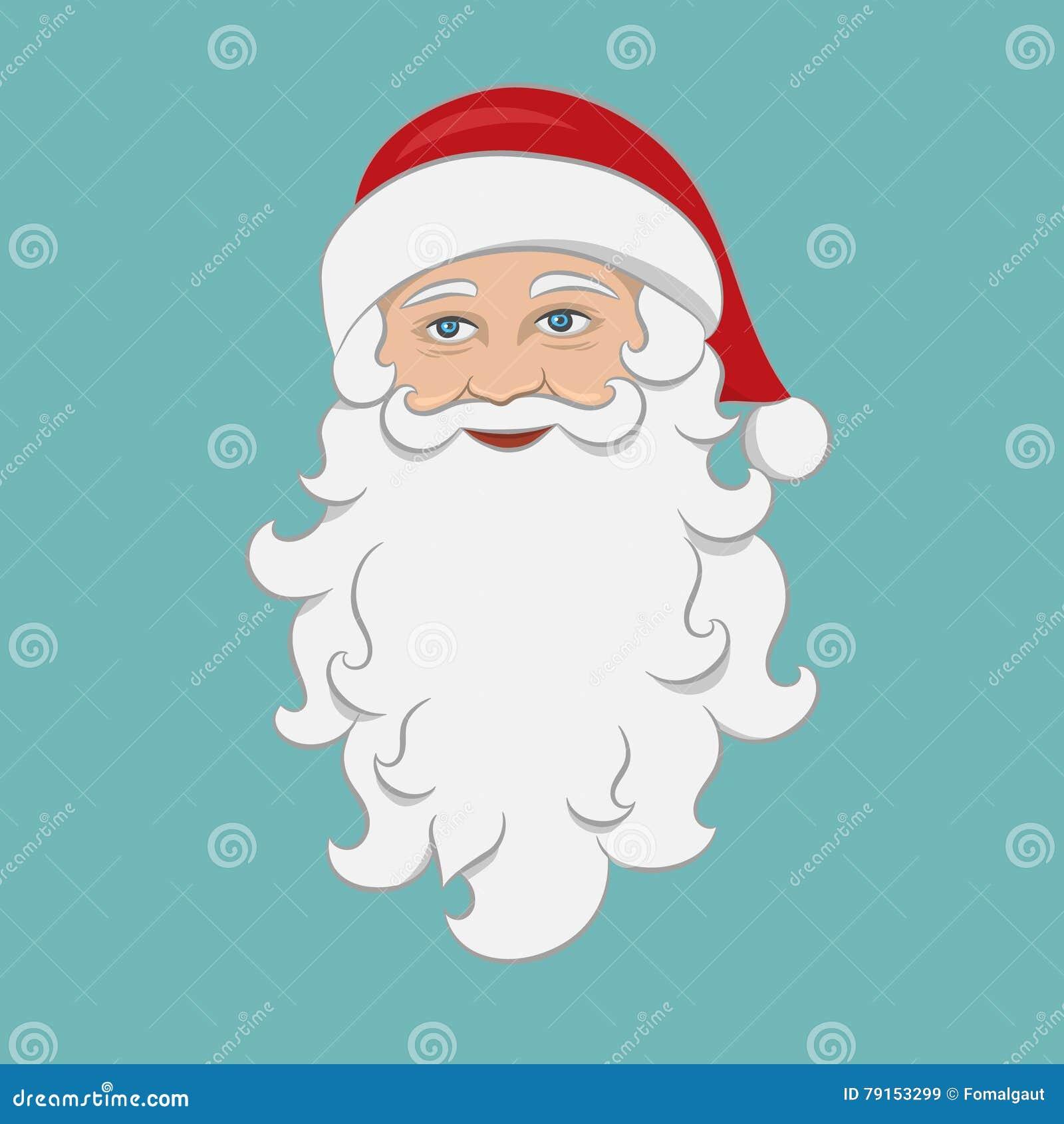 Christmas Holiday Clipart.Santa Claus Isolated Cartoon Character Merry Christmas