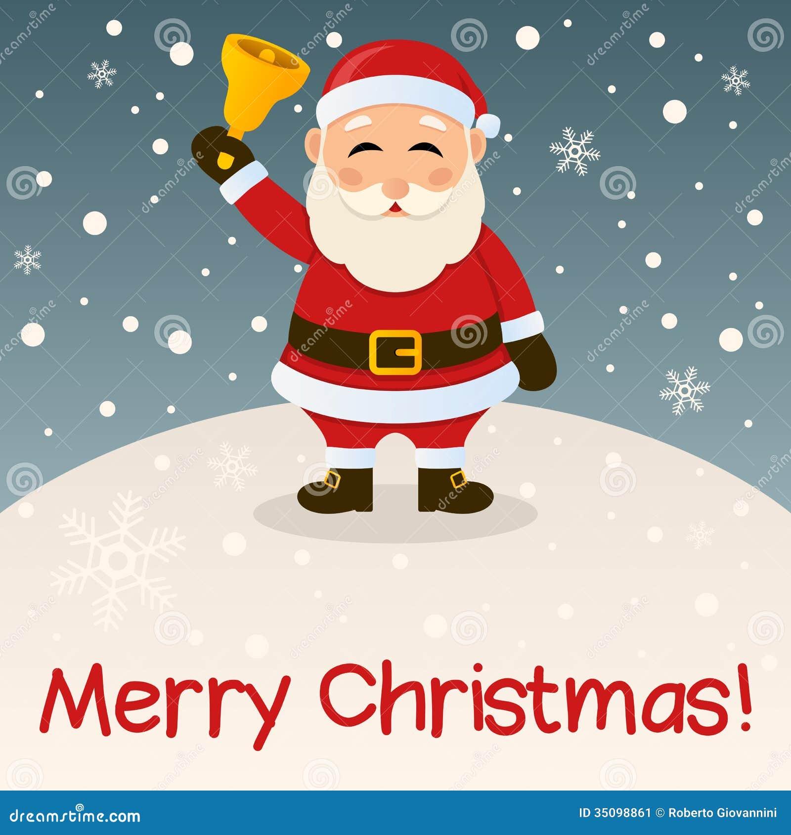 Santa Claus Merry Christmas Card