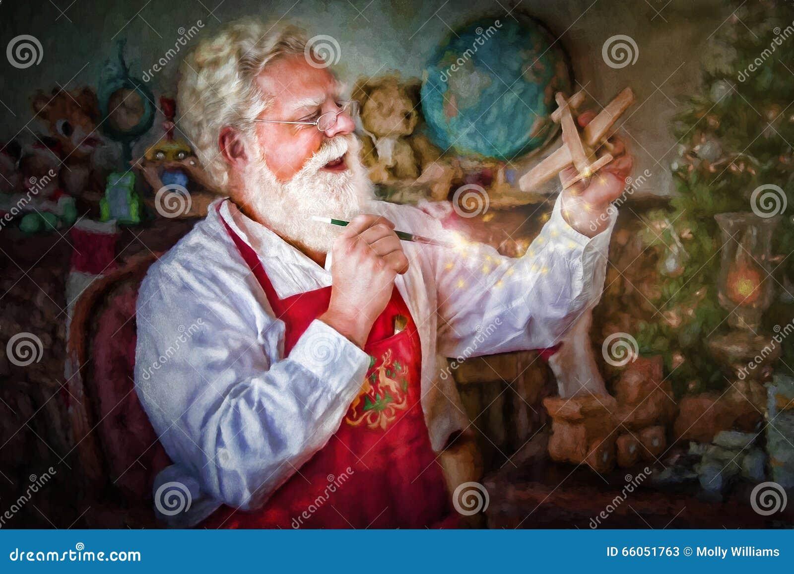 Santa Claus Painting Toys