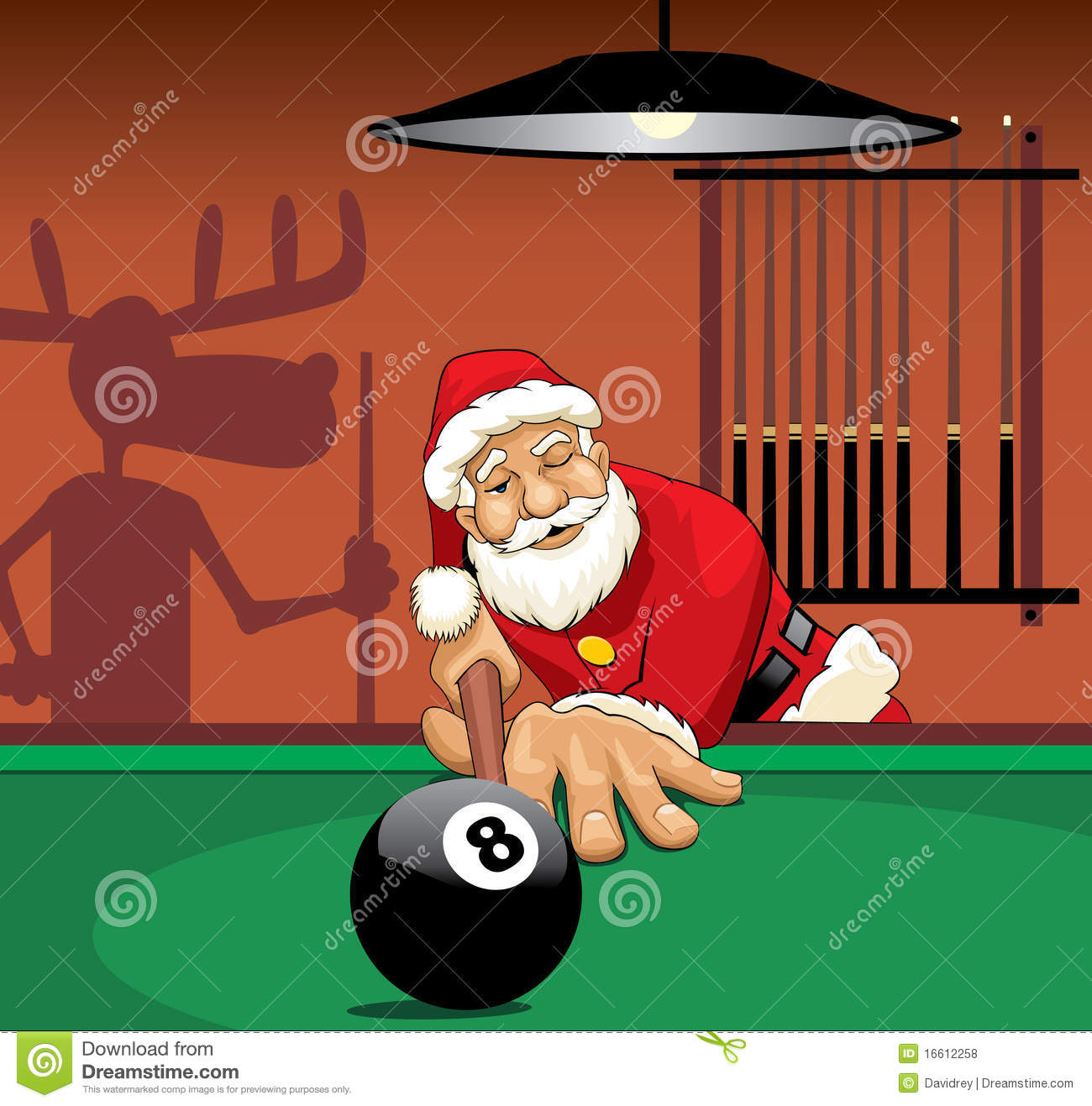 santa claus playing pool royalty free stock photos image clip art wedding bells decorations clip art wedding bells decorations
