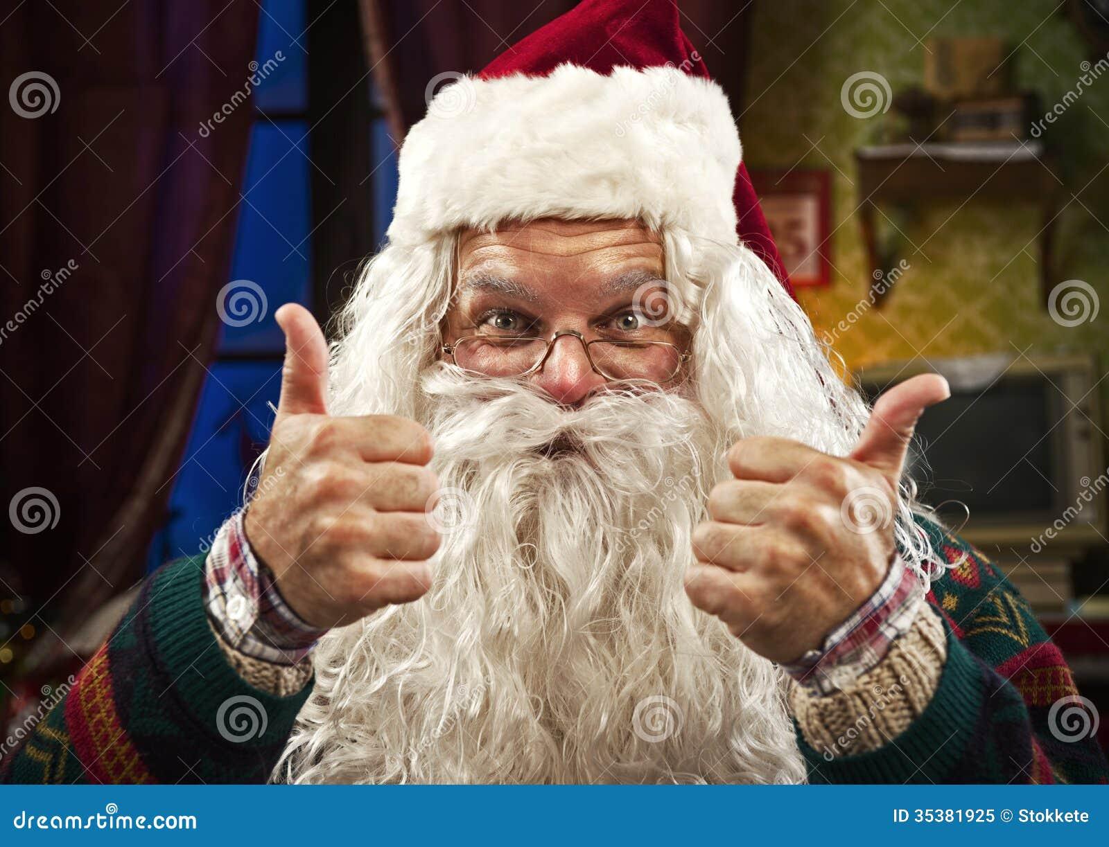 Beach Christmas Cards >> Santa Claus Royalty Free Stock Photo - Image: 35381925