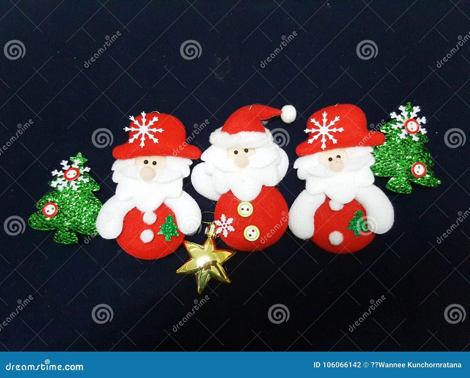 Santa Claus pour la saison de Noël