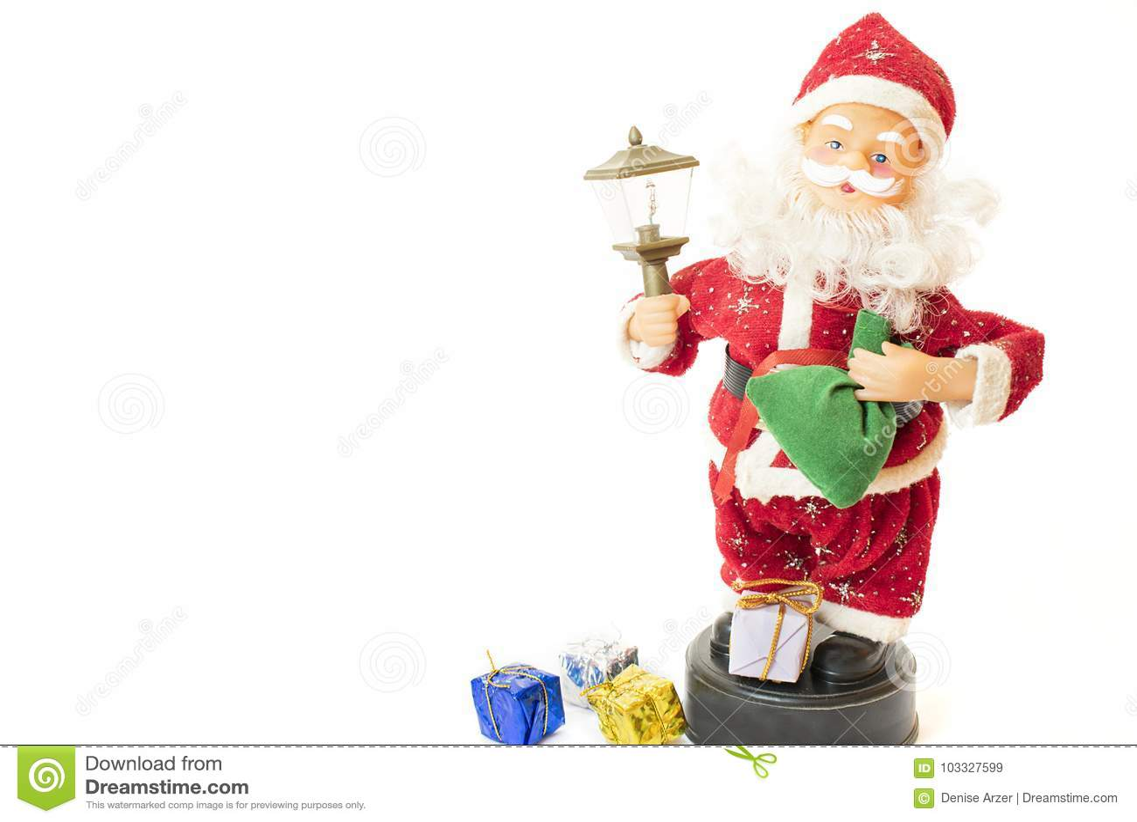 Santa claus prezenty