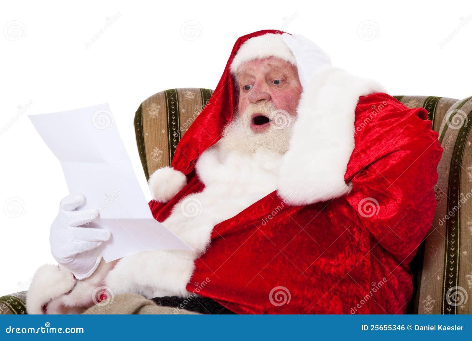 Santa Claus Reading Wish List Royalty Free Image Image – Santa Wish List Online