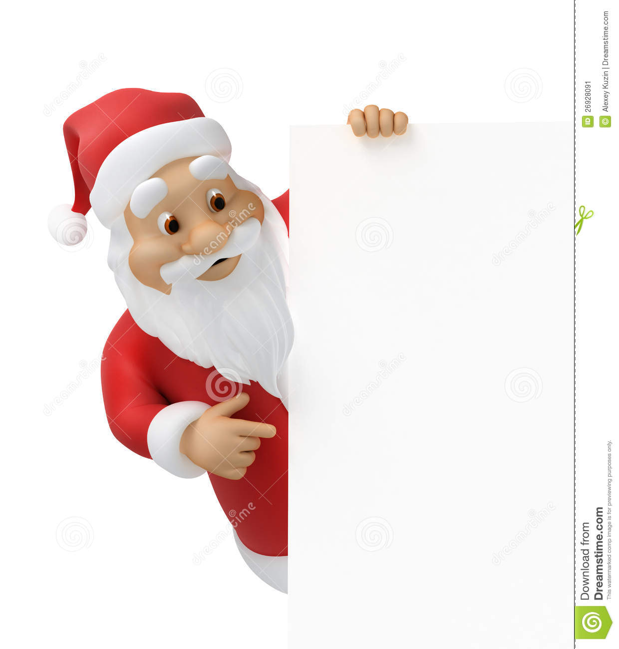Uncategorized Santa Claus Paper santa claus with a sheet of paper stock illustration image 26928091 royalty free photo download claus