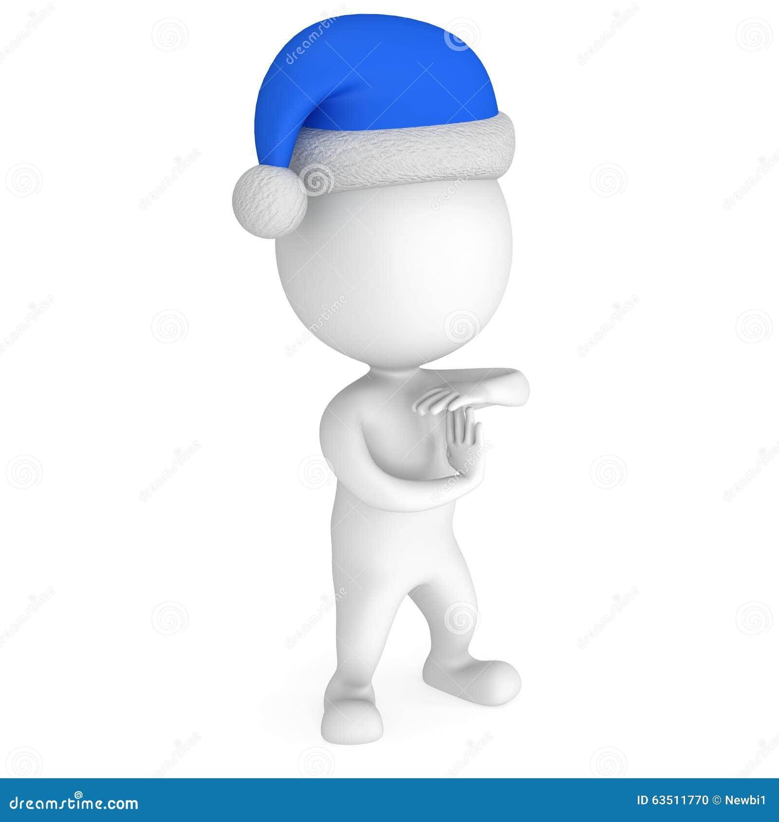 Santa Claus Show Time Out blanca