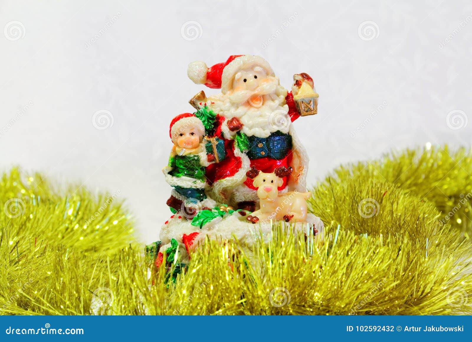 Santa Claus-stuk speelgoed