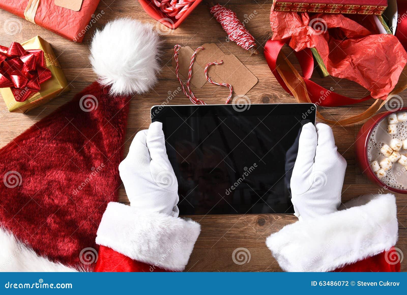 Santa Claus Tablet Computer
