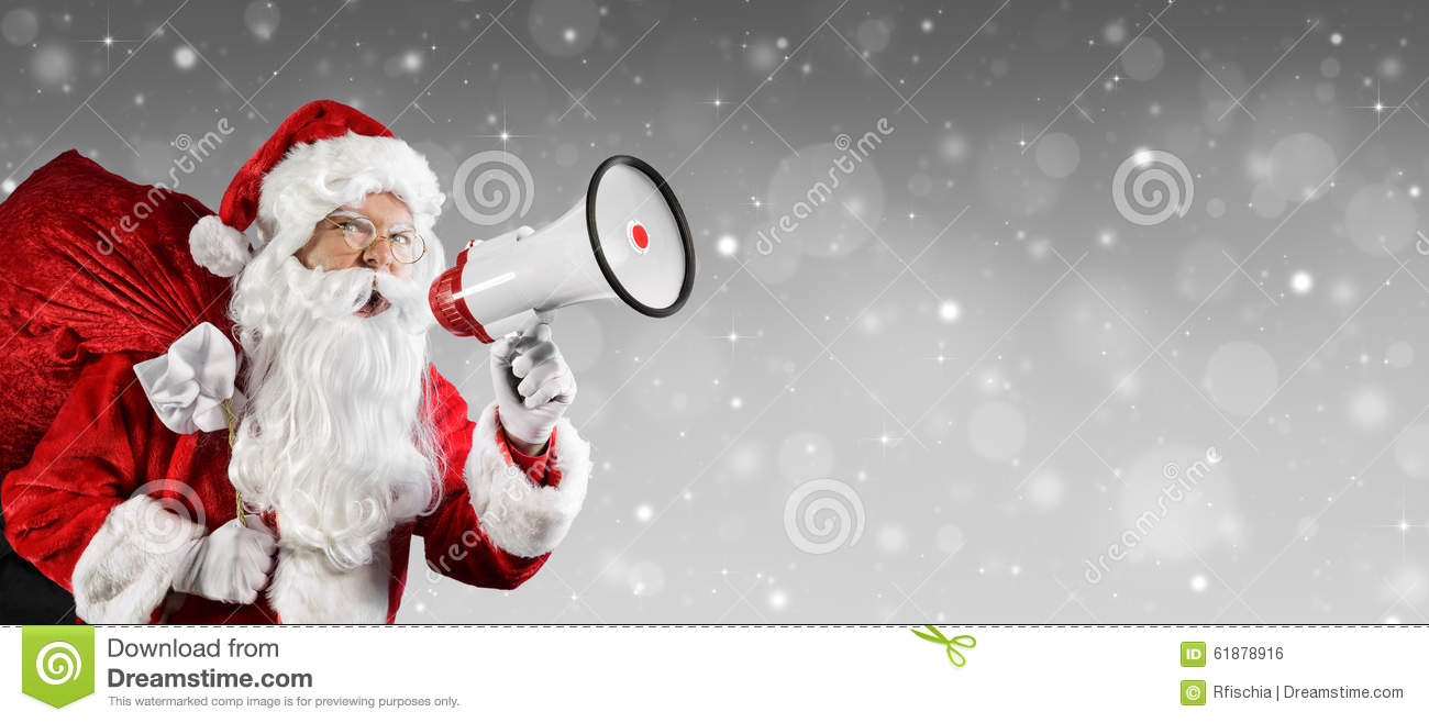 Santa Claus Talking