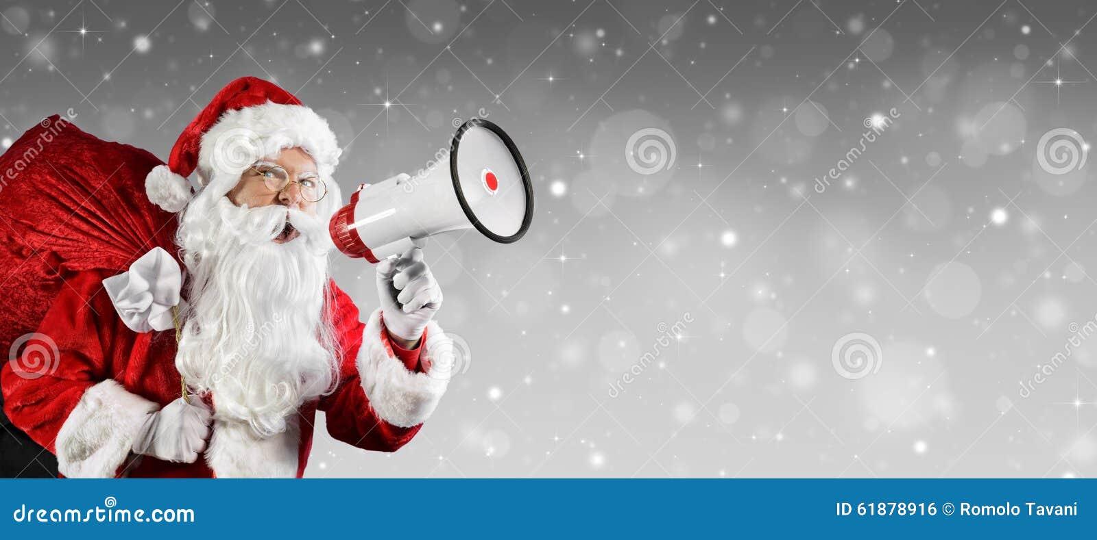 Santa Claus Talking