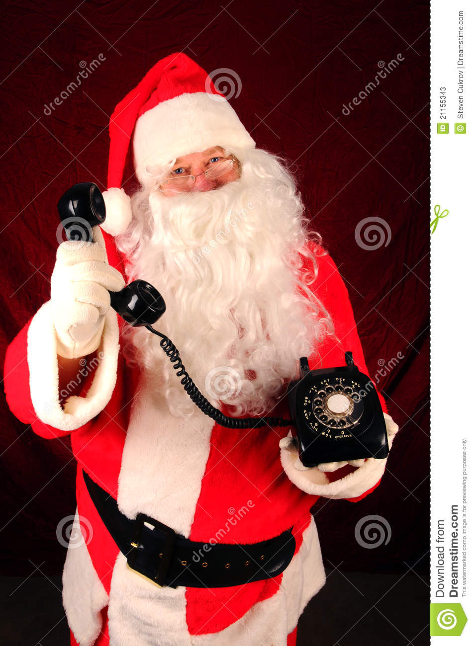 telephone pere noel Santa Claus with Telephone stock image. Image of holiday   21155343 telephone pere noel